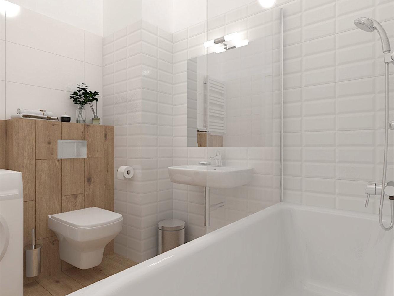 aranżacja łazienki 3D